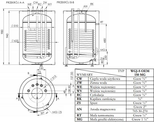 wymiary-elektromet-wgj-s-oem-150-l